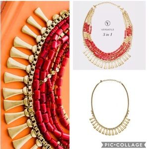 ::Stella & Dot [3-in-1] Bliss Statement Necklace